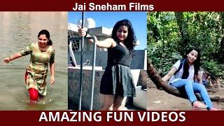 #034 AMAZING FUN VIDEOS | Jai Sneham Films