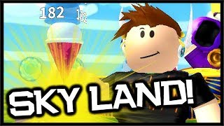 NEW SKY LAND UPDATE ZONE, AUTO CLICKER | Roblox Ice Cream Simulator