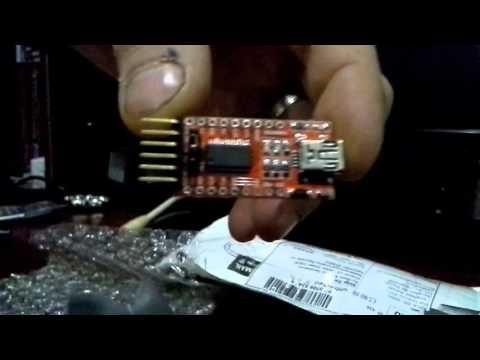 FT232RL FTDI USB программатор