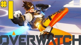 Overwatch - Part 1 - Introduction [Tracer] (PS4)
