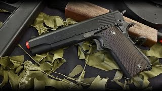 KWA M1911 A1 Government Model Classic GBB Gas Airsoft Pistol Review - Airsoftnmore.com