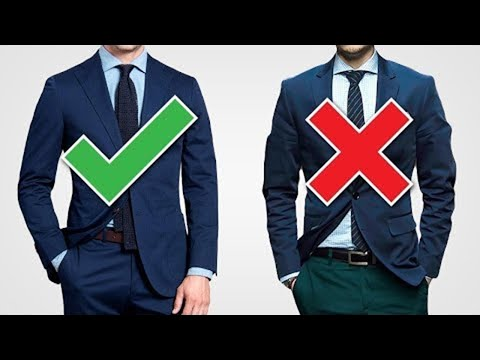 Suit Up! The 10 GOLDEN Rules To Buying A Suit (With Style)