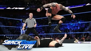Randy Orton vs. Baron Corbin: SmackDown LIVE, March 21, 2017