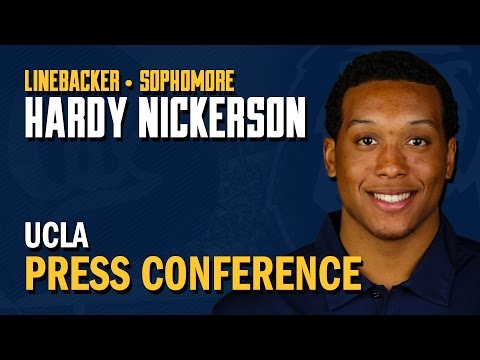 Cal Football: Hardy Nickerson - UCLA Post Game (10/18/14)