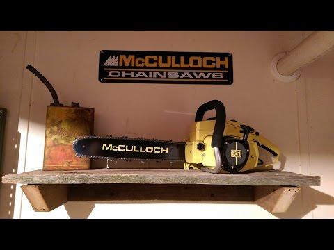 McCulloch 7-10 restoration