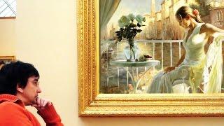 Процесс создания картины маслом. Художник Владимир Волегов • ВидеоКанал «exZotikA Max»