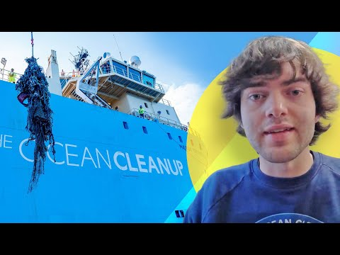 The Ocean Cleanup celebrates first haul of plastic from the Great Pacific garbage patch