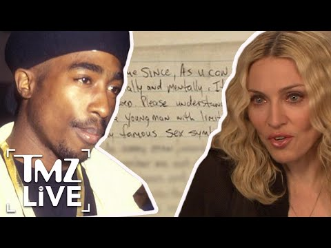 Tupac Broke Up With Madonna Over Race | TMZ Live