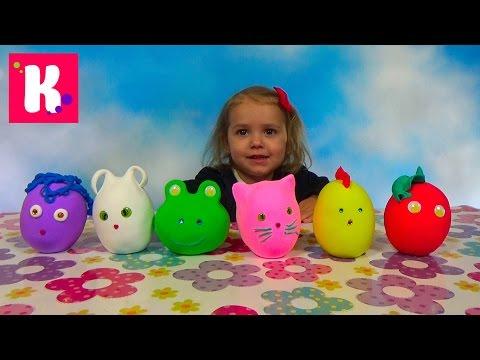 Заводныне Животные сюрпризы  Обзор игрушек
