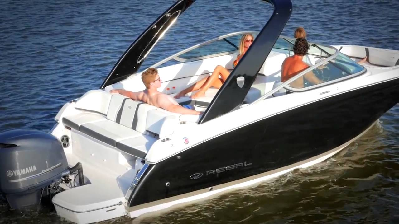 Regal Boats 23 Obx Outboard Features