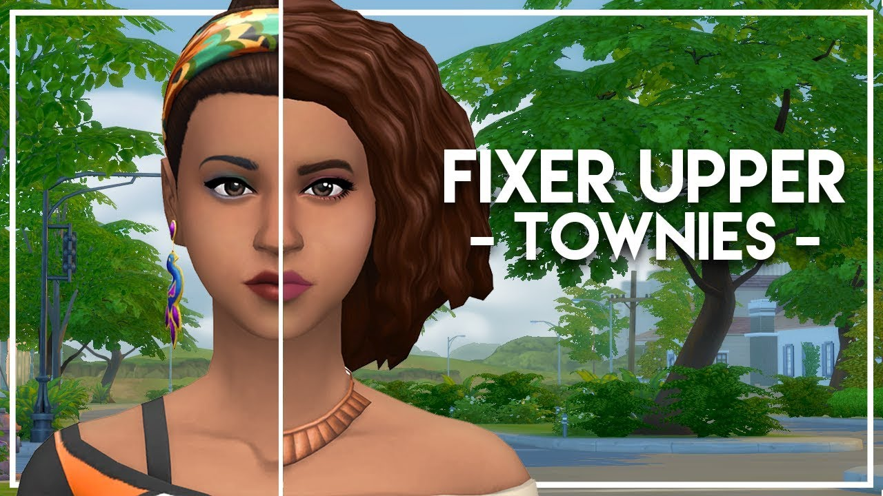FIXING PENNY PIZZAZZ // The Sims 4: Townie Makeovers