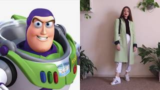 I dressed like Disney characters for a WHOLE MONTH! ºoº