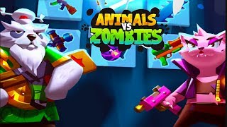 Animals vs Zombies - Android Gameplay (By Red Machine)