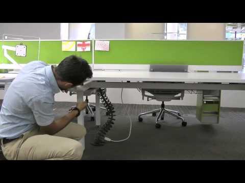 Herman Miller Height Adjustment On Sense Range Of Bench Desks