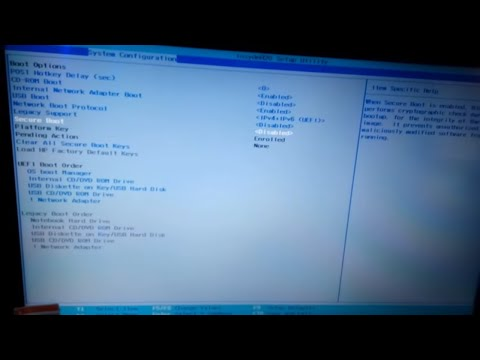 How To Disable Secure Boot On Hp Laptop