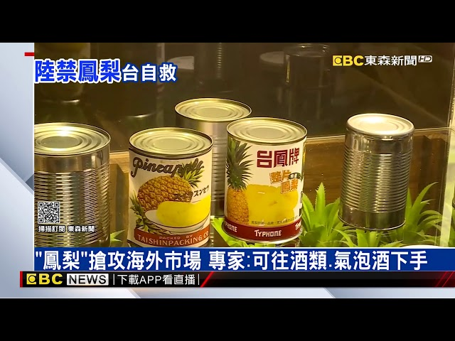 曾是全世界鳳梨罐頭產量冠軍 專家:幫果農還是得導向「加工」@東森新聞 CH51