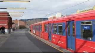 Old norwegian subway clips / Oslo metro