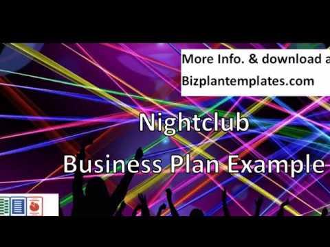 Nightclub business plan example youtube nightclub business plan example wajeb Image collections