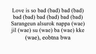Bad-Tablo ft Jin Shil Lyrics