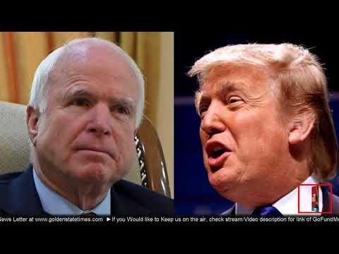 ROUND 1: President Donald Trump SLAMS John McCain: Im being Nice but wont be Much Longer!