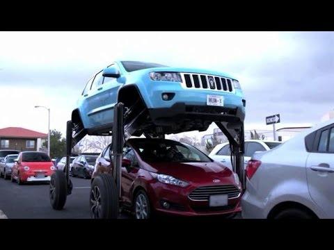 Trotseer de file met deze auto! - RTL LATE NIGHT