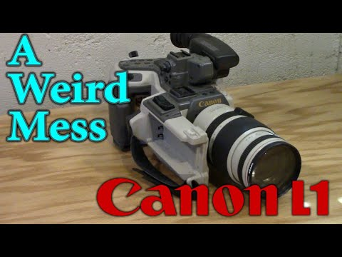 The Messy, Bizarre Canon L1 Camcorder
