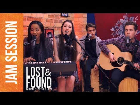 """Jam Session: """"You See Through Me"""" // Lost & Found Music Studios"""
