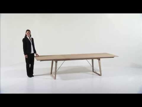 Krosby.no møbler   skovby spisebord sm38   youtube