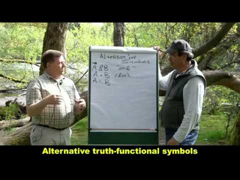 Alternative truth functional symbols mp4   YouTube