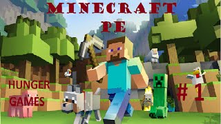 Minecraft PE - Hunger Games #1 - Alliance contre moi !