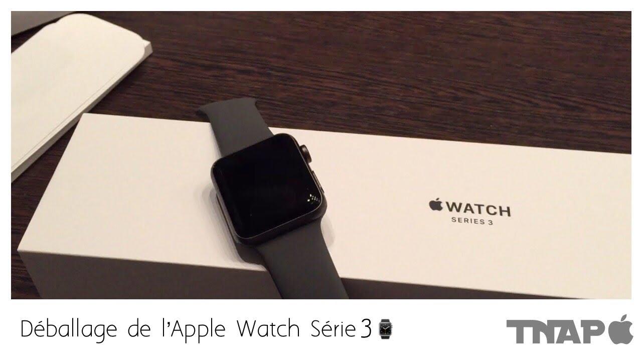 Déballage de l Apple Watch Série 3 GPS 😋    Boîtier 42mm Gris-Sidéral⌚     TNAP  6d6430b93a5a