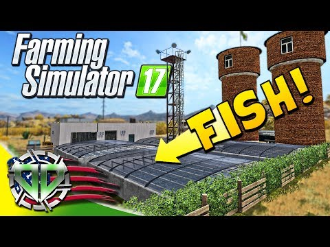 Farming Simulator 2017 Gameplay :EP30: Fish Farm & Caviar! (PC HD American Outback)