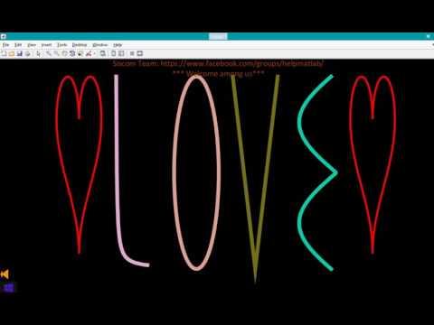 Matlab Loves You