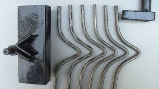 Станок для изготовления кованых элементов.(В этом видео я показал станок для изготовления кованых элементов,устройство приспособления,предназначени..., 2016-05-28T05:00:00.000Z)