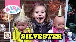 SILVESTER MIT BABY BORN & SISTER 🎉 Hannah und ihre Puppen feiern mit Krach ins neue Jahr