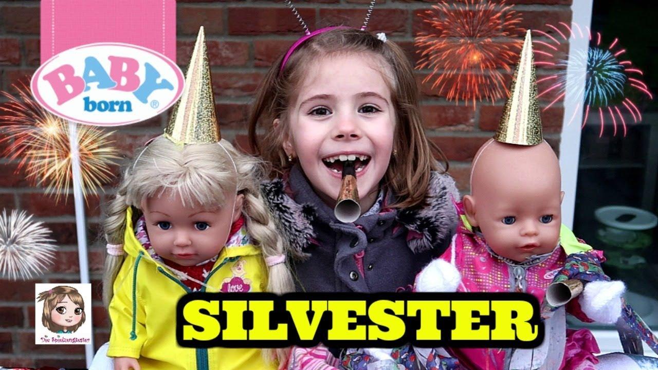 Silvester Mit Baby Born Sister Hannah Und Ihre Puppen Feiern