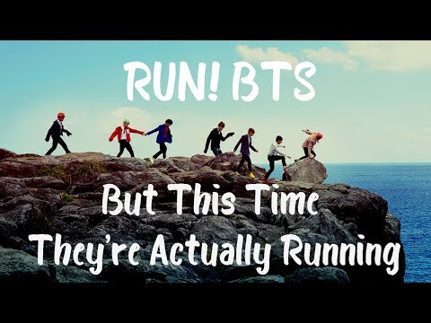 RUN! BTS but this time they're actually running