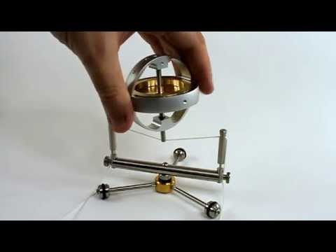 Super Gyroscope With Gimbal add-on kit - From Gyroscope.com
