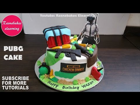 Pubg Birthday Cake Design Ideas Decorating Tutorial Video