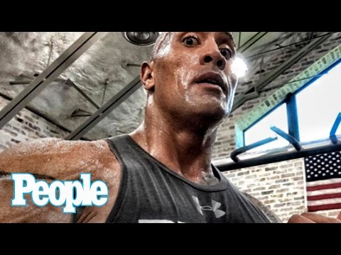 Dwayne The Rock Johnson Reveals The Workouts That Make Him So Sexy | SMA 2016 | People