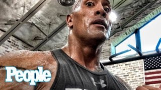 Dwayne 'The Rock' Johnson Reveals The Workouts That Make Him So Sexy | SMA 2016 | People