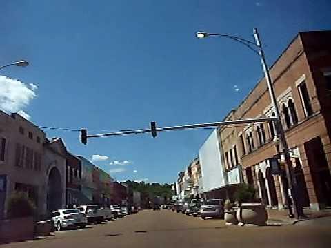 Yazoo City, MS. - historic downtown