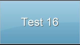 test 16. Suites logiques. Test aptitude concours auxiliaire de puériculture