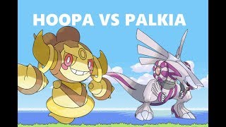 FoxPandaTV ROBLOX HOOPA VS PALKIA BATTLE POKEMON BREEZE COLOSSEUM RE-UPLOADED