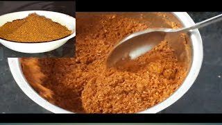 Homemade sambhar masala powder//घर मे बनाएँ सांभर मसाला