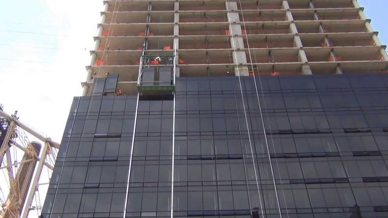 1113 York Avenue Curtainwall Installation