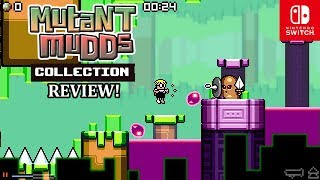 Mutant Mudds Collection - Nintendo Switch Review!