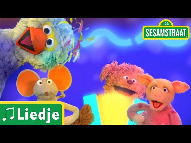 Klap eens in je handjes - Kinderliedje - Sesamstraat