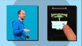 Android Wear in Google I/O 2014 Keynote