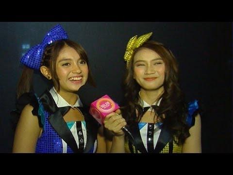 Kekompakan Nabila dan Melody JKT 48 - Seleb On Cam 16 Juni 2014